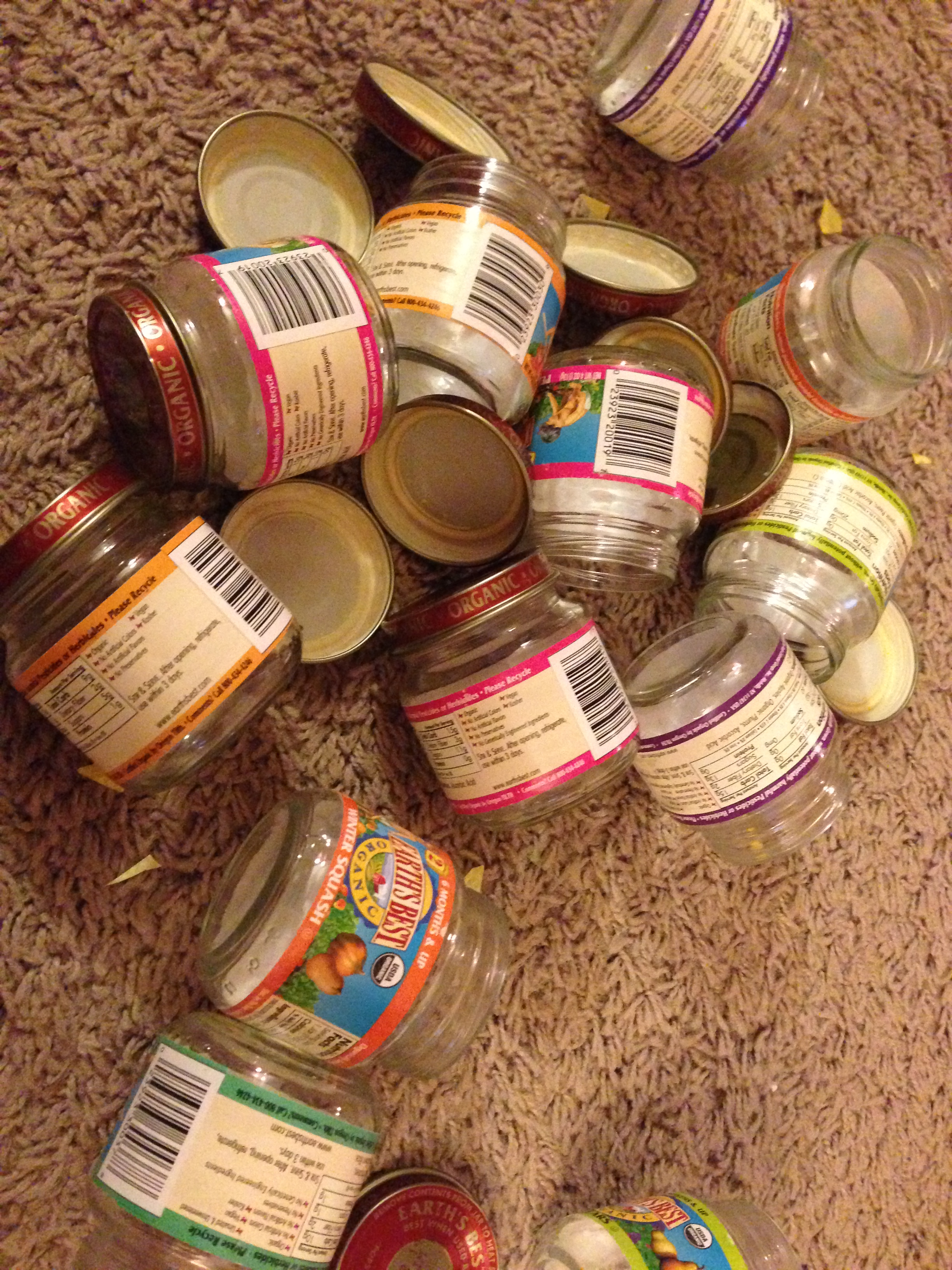 diy baby food jar soy candle favors what 39 s on my mind grapes what 39 s on my mind grapes. Black Bedroom Furniture Sets. Home Design Ideas