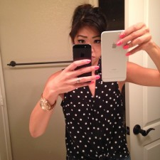 It's so bad that I need TWO phones!  Just kidding, just testing out my sister's iPhone 6 Plus.