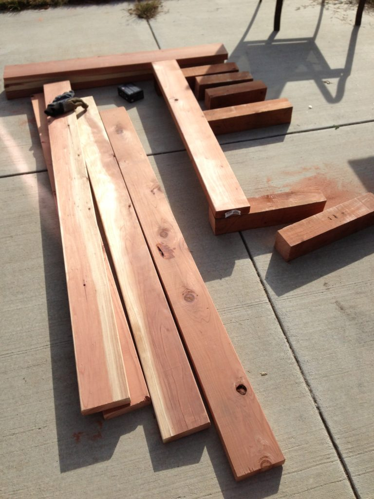 :: DIY Garden Boxes :: - What's On My Mind Grapes?
